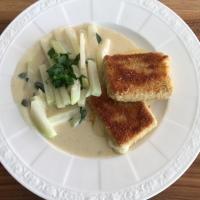 Tofu-Cordon-Bleu mit Kohlrabi