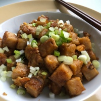 """Chai Tow Kway - Singapore """"Carrot Cake"""""""