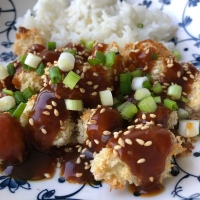 Blumenkohl mit General Tso's Sauce